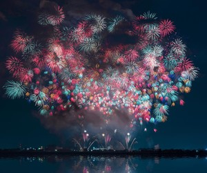 Japan Fireworks by Keisuke