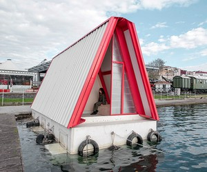 Fold and Float Emergency Shelter / SO?