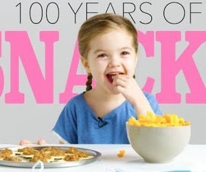 100 years of party snacks