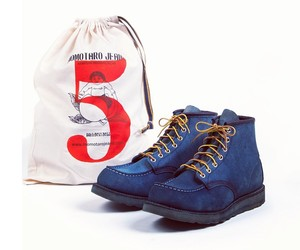 Red Wing Natural Indigo Boots by Tenue de Nimes