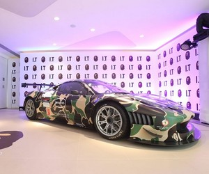 A Bathing Ape x Ferrari 458 Italia GT3