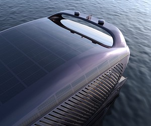 The World's First Ocean-going Solar Yacht