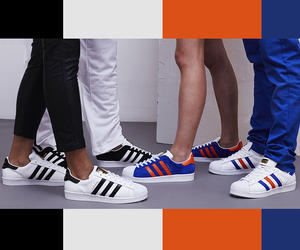 ADIDAS ORIGINALS SUPERSTAR NYC EAST RIVER RIVALRY