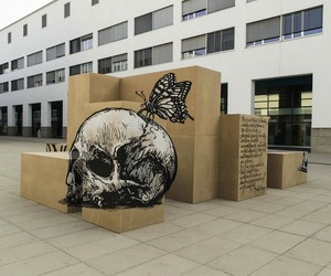 Anamorphic Illusions by Street Art Collective