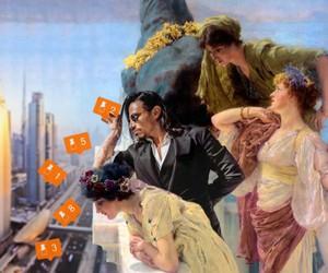 Ancient World Meets Contemporary Society