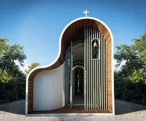 Sculptural Greek Orthodox Chapel Pops Up in Cyprus