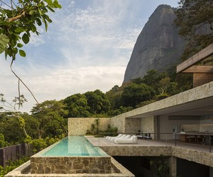 Contemporary Home of Brazilian TV host Alex Lerner