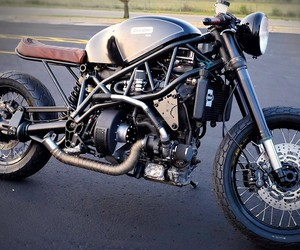 Hormel Black Bacon Powered Motorcycle