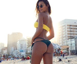 """Brazilian Colours"" – Model Raissa Alves in Rio"