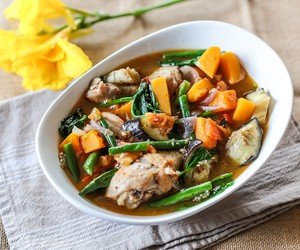 Cambodian Chicken and Vegetable Stew
