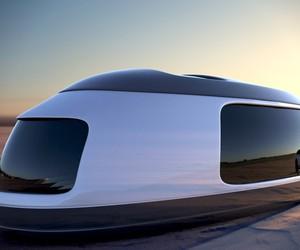 Futuristic Camping Pods