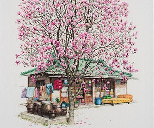 Charming Paintings of Small Convenience Stores