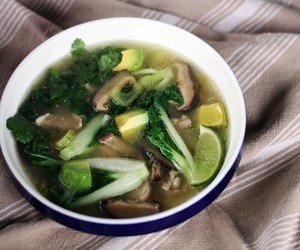 Chicken and Vegetable Miso Soup