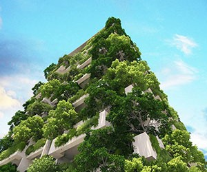 The World's Tallest Residential Garden