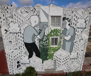 Closer - New Mural by Millo in Los Angeles