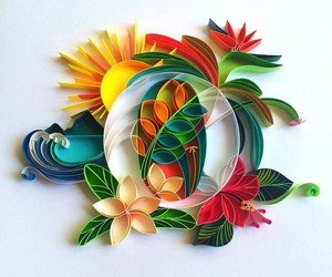 Colorful Paper Typography