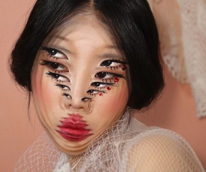 Optical Illusions by Makeup-Artist Dain Moon