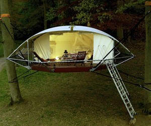 Dom'Up Tree House Is Your Own Outdoor Home