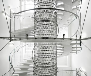 Intricate Stairs at EJA's new Somerset house