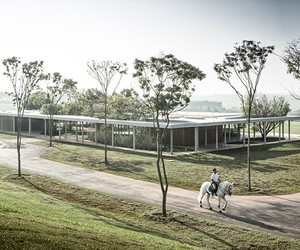 Fazanda Boa Vista Equestrian Center Clubhouse