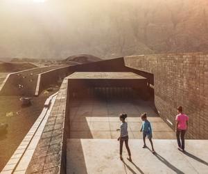 Oto arquitectos' Volcanic Fogo Island Natural Park