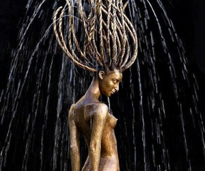 """""""Fontaines"""" – Awesome Bronze & Wood Sculptures"""