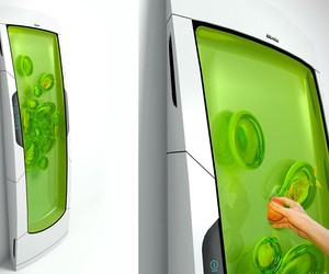 Bio-Gel Fridge of the Future