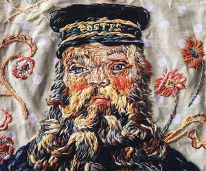 Awesome Hand-Embroidered Portraits