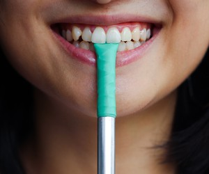 Chew: Chewable, Reusable and Pocketable Straw