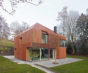 House 11 x 11 by Titus Bernhard Architekten