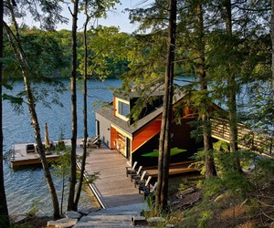 Contemporary New York Boathouse