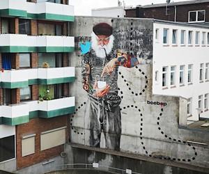 Streetart: FischersNetz Mural by Innerfields