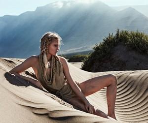 Isabel Scholten by Xavi Gordo for Glamour Italy