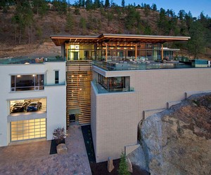 Custom Private Home in British Columbia