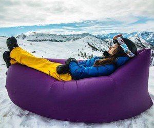 Lamzac Hangout – Instantly Inflatable Bean Bag