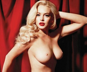 Lindsay Lohan for Playboy Magazine