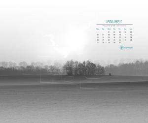 Cromoart Desktop Calendar – January 2014