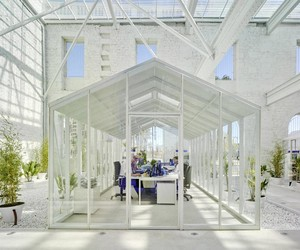 Living and Working in The Coolest Greenhouses