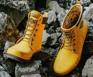 Mr.Rain X1 Yellow Handmade Unisex Rainboots by Sub
