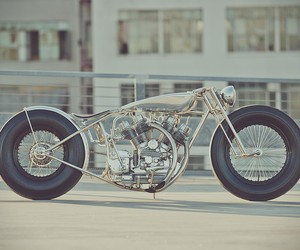 The Musket Aluminum Motorcycle
