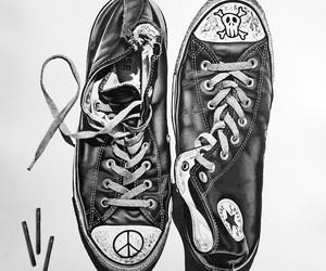 Hyperrealistic Black Ink Drawings