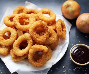 Cripsy Fried Battered Onion Rings