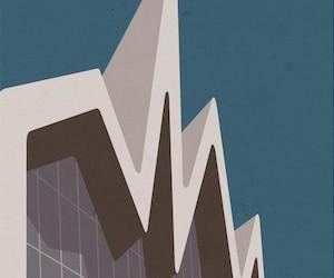 Minimalist Architecture Poster Design