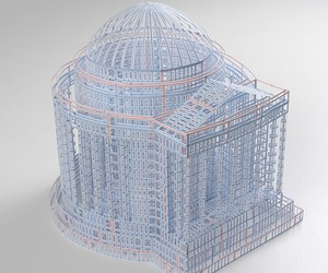 Hand Made Architectural Models Crafted From Paper