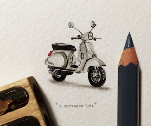 Postcards for Ants, Miniature Watercolor Paintings