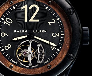 Ralph Lauren Flying Tourbillon Watch