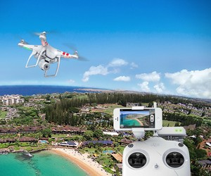 Live Streaming Quadcopter