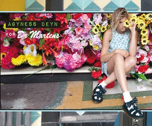 AGYNESS DEYN FOR DR. MARTENS