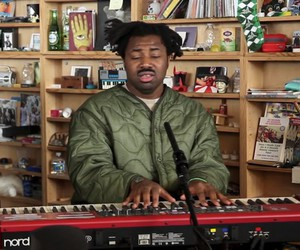 Sampha performs at NPR Tiny Desk Concert