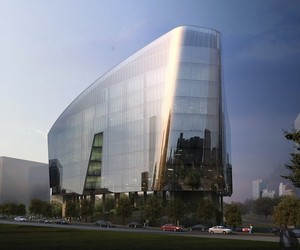 George Lucas Sandcrawler Building